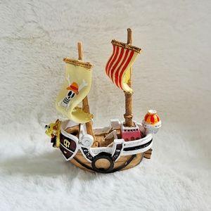 Pirate Ship Fish Tank Decoration